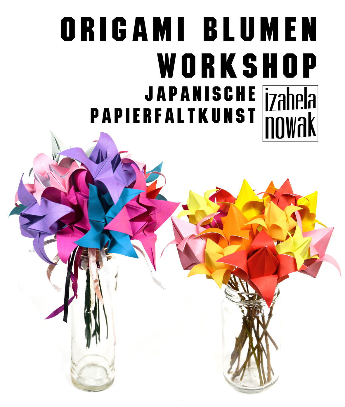 Origami Blumen Workshop_Izabela Nowak