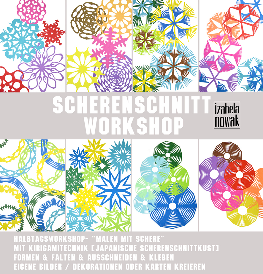 Scherenschnitt Workshop_Izabela Nowak