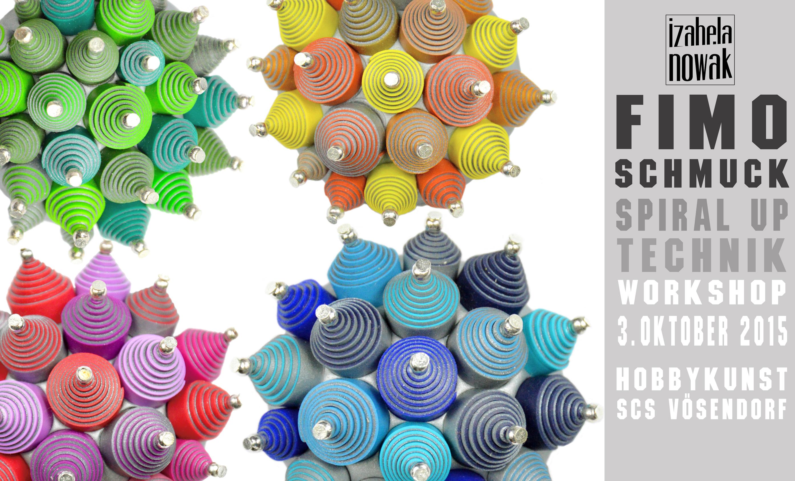 Izabela Nowak Fimo Polymer Clay Contemporary Jewelry