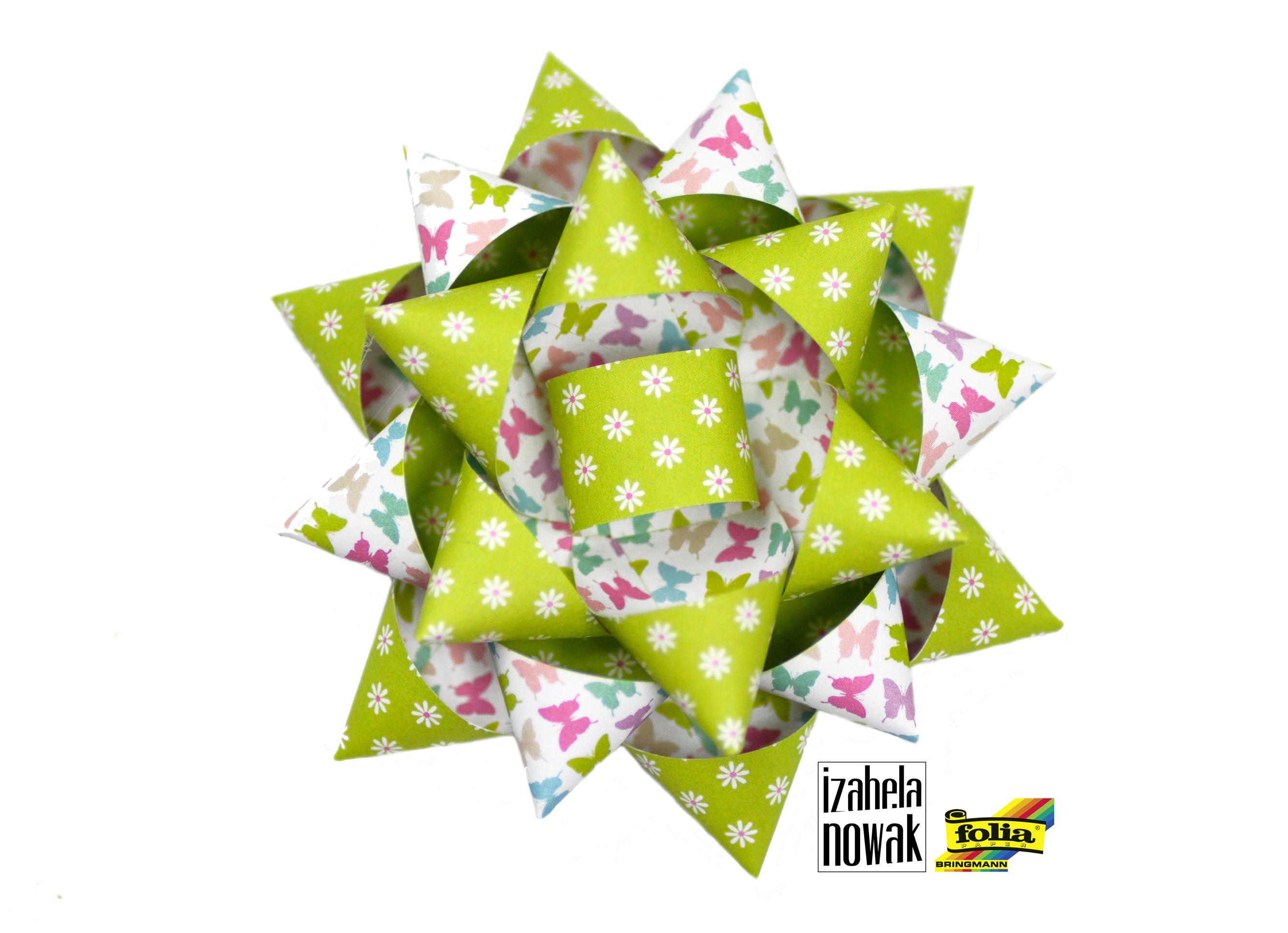 Izabela Nowak paperart ribbon