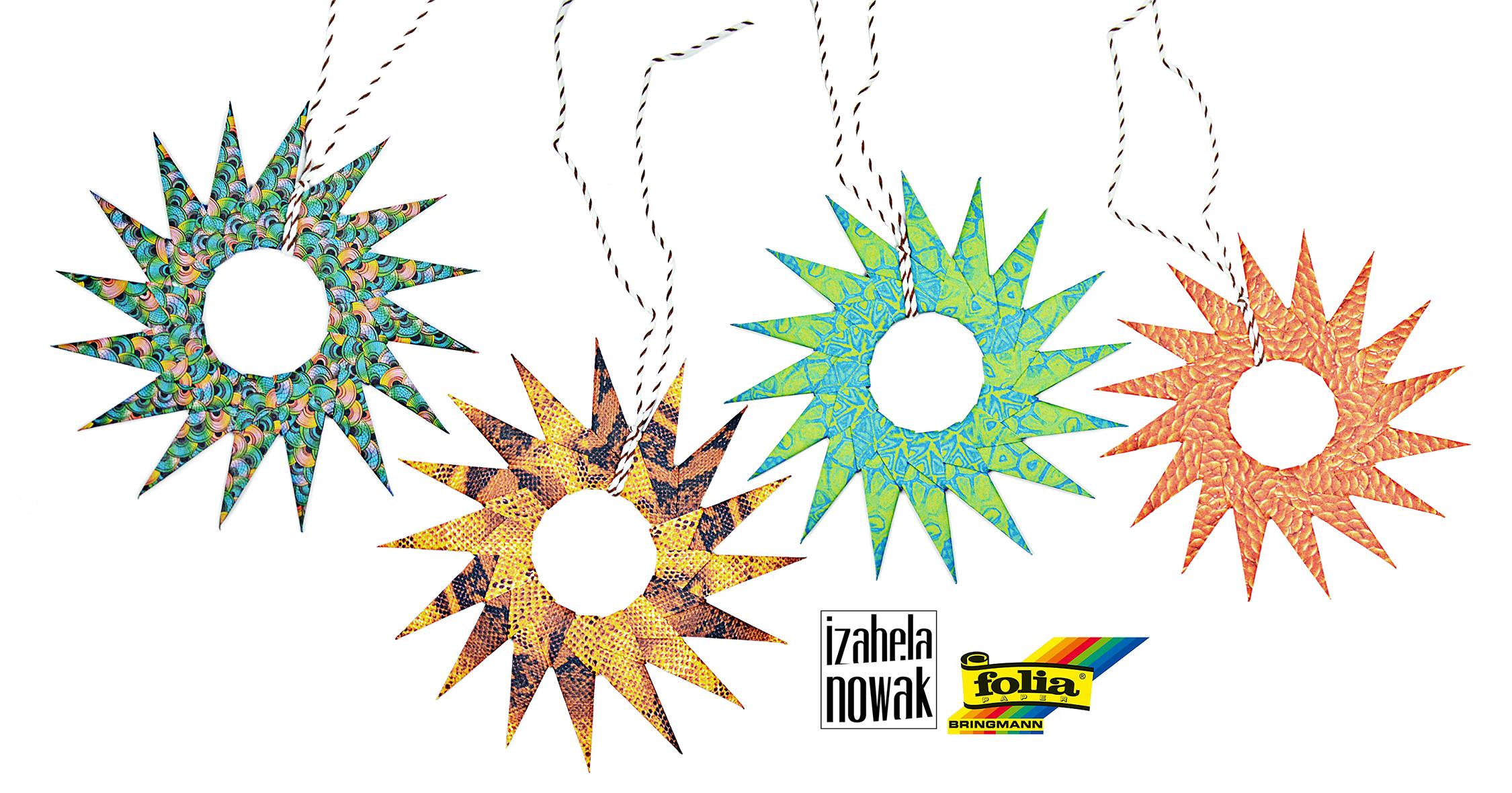 Hanging Origami Blumen_Izabela Nowak klein